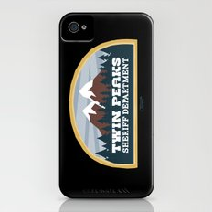 Twin Peaks Sheriff Department (Redux) iPhone (4, 4s) Slim Case