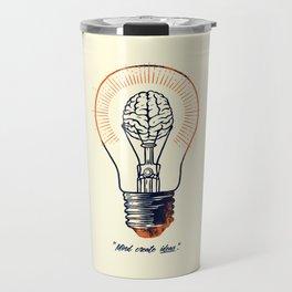 Mind create ideas Travel Mug