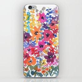Bright Summer Garden iPhone Skin