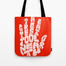 The Greatest Tool On Earth Tote Bag