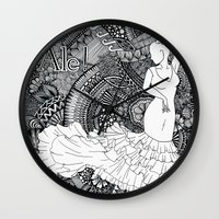spanish Wall Clocks featuring spanish dancer by ZINAVARTA