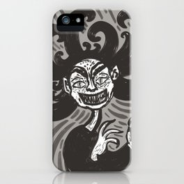 Anxiety demon iPhone Case