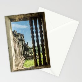 Angkor Wat, Window of the Outer Wall, Cambodia Stationery Cards