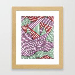 fibers (3) Framed Art Print