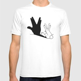 Rabbit Trek Hand Shadow T-shirt