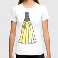 hufflepuff T-shirts featuring Hufflepuff Dress by AlwaysRiverose