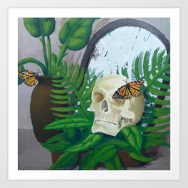 A Reflection of Life and Death Art Print