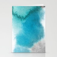 mineral Stationery Cards featuring mineral 01 by LEEMO