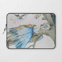 Feather fairy by Sergey Sergeevich 1912 Laptop Sleeve