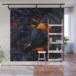 Kilauea Lava Wall Mural