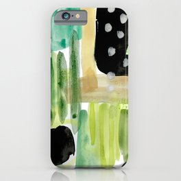 Garden Fern Abstract iPhone Case