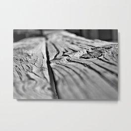 Wood Grain Digital Photography Art Print Metal Print