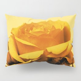 Vintage Yellow Rose and buds Pillow Sham