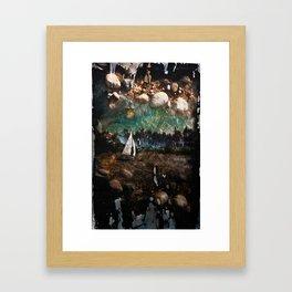Sand Sailing Framed Art Print