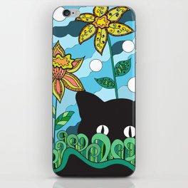 Cat in Wonderland iPhone Skin