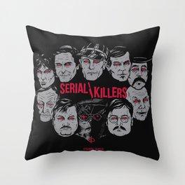 Möribundo Clothing - Serial Killers Throw Pillow