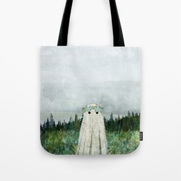 Forget me not meadow Tote Bag