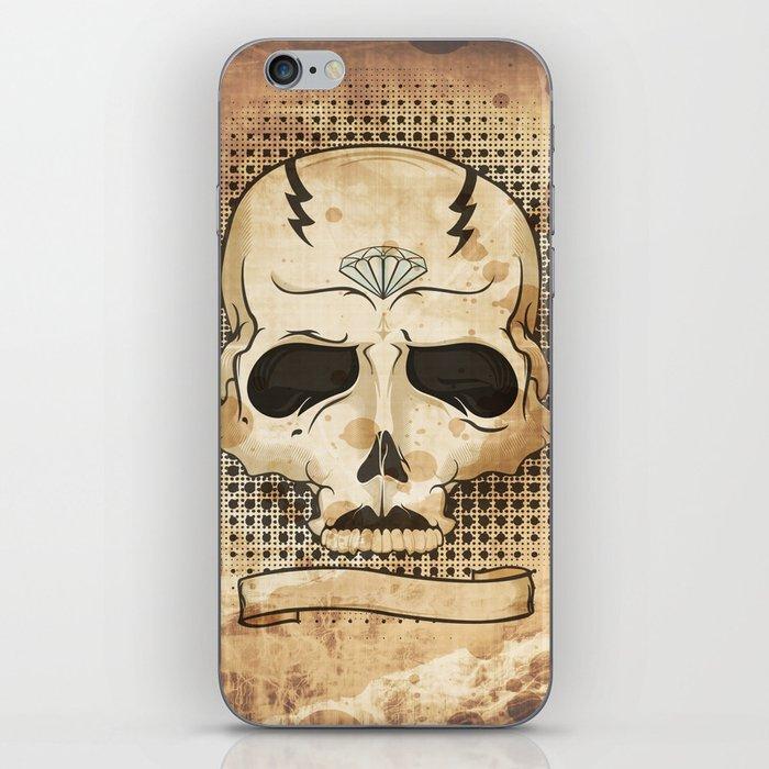 Ancient Skull iPhone Skin