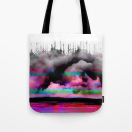 abstract landscape surreal view Tote Bag