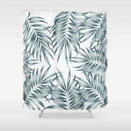 Palm Leaves #society6 #buyart Shower Curtain