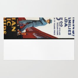 Vintage poster - Canadian Pacific Rug