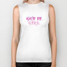 Get it, Girl Biker Tank