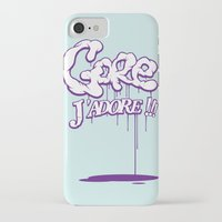 gore iPhone & iPod Cases featuring Gore j'adore by Iksoner
