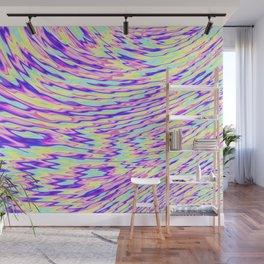 acid trip rainbow Wall Mural