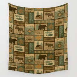 Big Bear Lodge Wall Tapestry