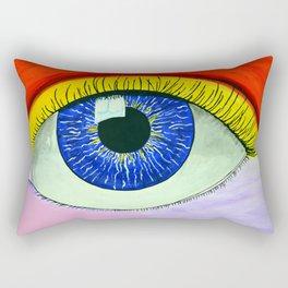Color Vision L Rectangular Pillow