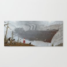 1920 - wind gambit Canvas Print
