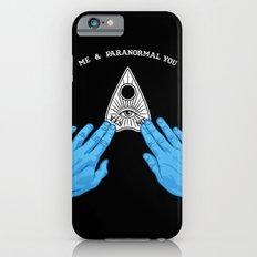 Me & Paranormal You - James Roper Design - Ouija (white lettering) Slim Case iPhone 6s