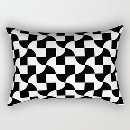 Monochrome Fantasy I Rectangular Pillow