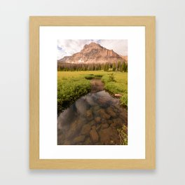 clear your mind Framed Art Print