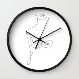Lip To Nip Wall Clock