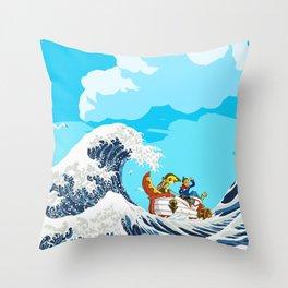 Link adventure Throw Pillow