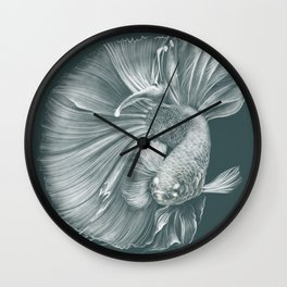 Betta Fish Wall Clock