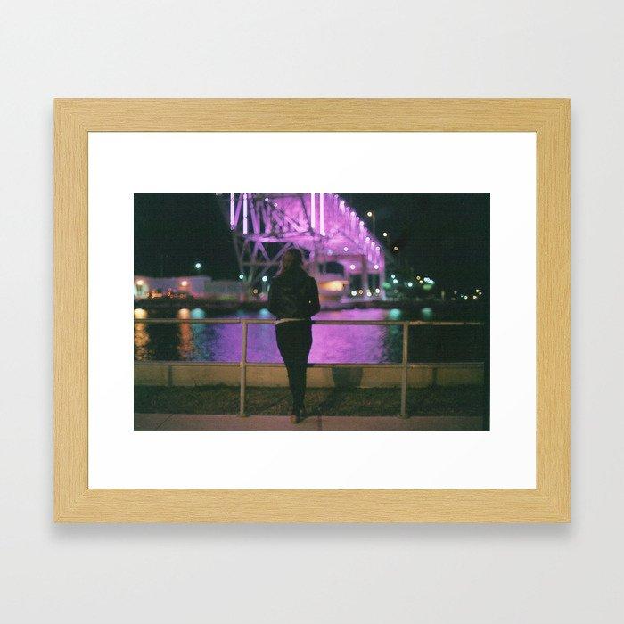 bokeh bliss Framed Art Print