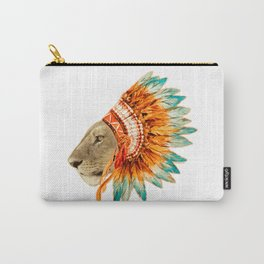 The Feminist - Chief Lioness - colors Carry-All Pouch