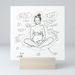 The Truth About Pregnancy Mini Art Print