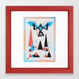 Magic Bird Framed Art Print
