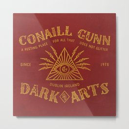 Conaill Gunn Dark Arts ( Watching Eye )  Metal Print