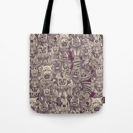 gargoyles purple Tote Bag