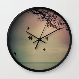 The Silence of the Frozen Wall Clock