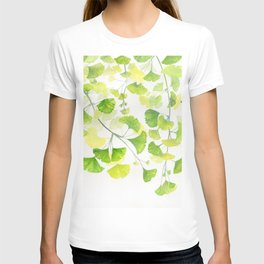 Ginkgo Watercolor  T-shirt