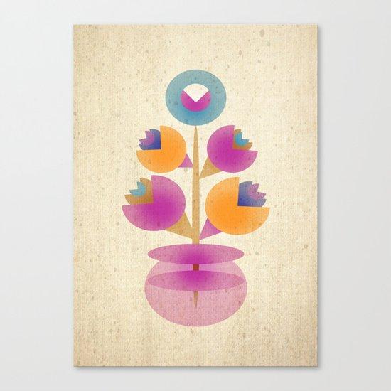 Bunch in Vase Canvas Print