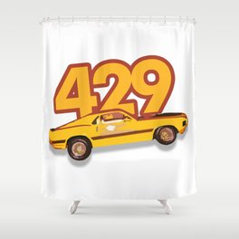 The Boss 429 Shower Curtain