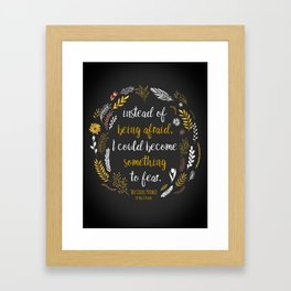 The Cruel Prince Quote Holly Black Framed Art Print