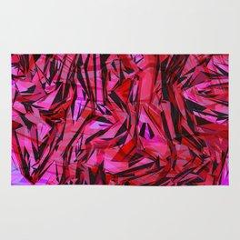 red flow Rug