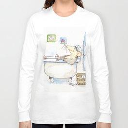 Stu in the Bath Long Sleeve T-shirt